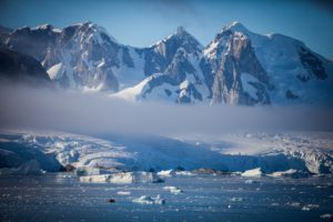 Antarctic scenery