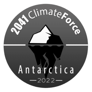 Logo for 2041 ClimateForce Antarctic Expedition